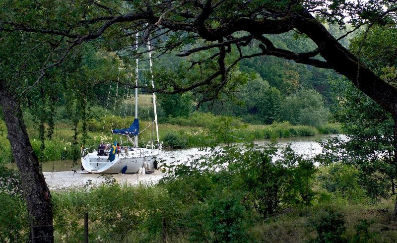 Kanalferie: Gøta kanal klimakompenserer reisene på kanalen