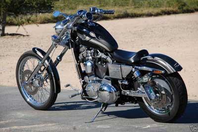 Ombygd Harley Davidson Sportster 2003 modell